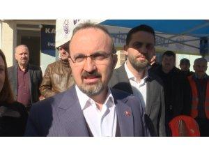 """AK Parti Grup Başkanvekili Turan: """"Yardımları Elazığ'daki kardeşlerimize göndereceğiz"""""""