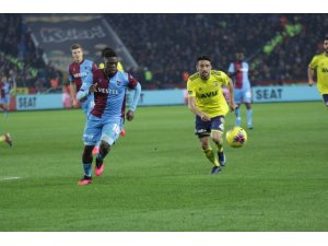 Süper Lig: Trabzonspor: 2 - Fenerbahçe: 1 (Maç sonucu)