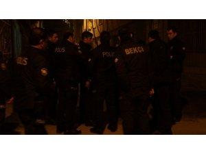Bekçilere saldırdı zorlukla gözaltına alındı