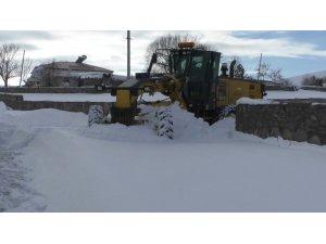 Kars'ta kapalı köy yolları ulaşıma açılıyor