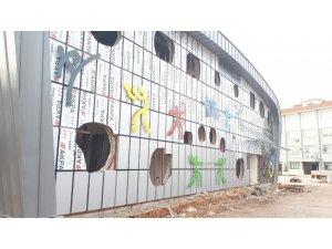 Orhangazi Spor Salonu'nun figürleri belirdi