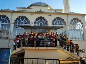 'Haydi çocuklar camiye' projesinin Yunusemre ilçe töreni yapıldı