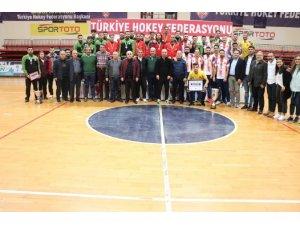 2019-2020 sezonu Erkekler Salon Hokeyi Süper Ligi sona erdi