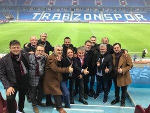 Trabzonspor yönetimi, Fenerbahçe galibiyetlerinden mutlu