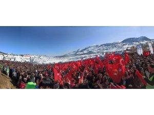 Kar festivali coşkusu devam ediyor