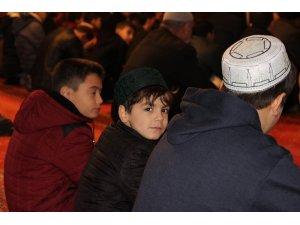 Camiler yarıyıl tatilinde çocuklarla şenlendi