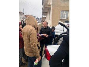 Şehit aileleri ve gazilerden Elazığ'a yardım