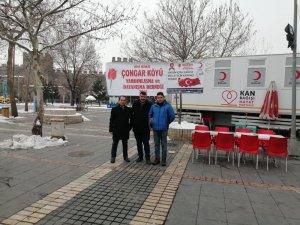 Çongar Köyü Derneği'nden Elazığlı Deprem Zedeler İçin Kan Bağışı Kampanyası