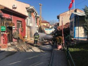 Eskişehir'de doğalgaz patlaması