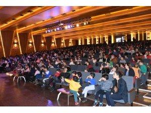 Çocuk etkinlikleri festivali yoğun ilgi