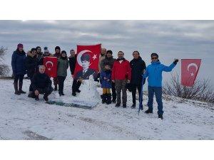 Türk bayrağını yırtan Yunan milletvekili Amasya'da protesto edildi