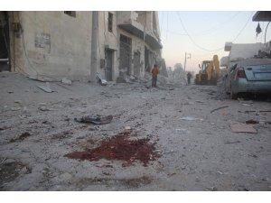 Esad ve Rus savaş uçakları Halep'i vurdu: 1 ölü