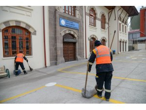Altındağ'da okullara yoğun bakım