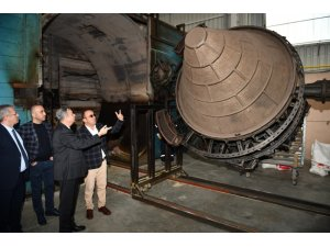 Vali Su, MTOSB'de fabrikalarda inceleme yaptı