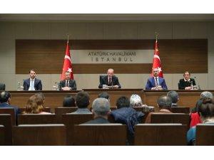 """Cumhurbaşkanı Erdoğan: """"46 rejim hedefi 122 fırtına obüsü, 100 havan mühimmatı ile vuruldu"""""""
