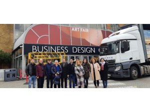 Tekstilciler ihracat için Londra'da