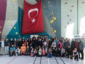 Spor Tırmanış 4. Bölge Şampiyonası tamamlandı