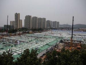 Çin'de sadece 10 günde inşa edilen hastane ilk hastalarını kabul etti