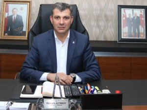 """Başkan Altınsoy: """"Güçlü ve geleceği aydınlık bir Türkiye'nin tek teminatı AK Parti'dir"""""""