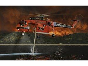 S-64F+ Air Crane helikopterini duyurdular