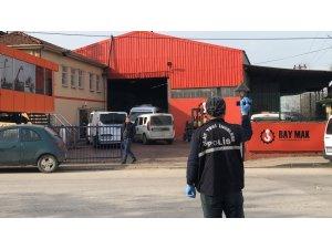 Fabrikanın çatısından düşen boya ustası öldü