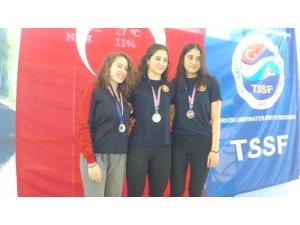 Paletli yüzmede 3 yeni Türkiye rekoru