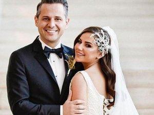 Merve Özbey ve Kenan Koçak evlendi