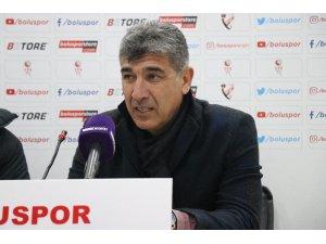 Boluspor - Ümraniyespor maçının ardından