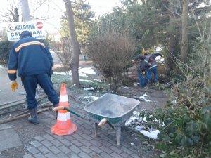 Düzce Belediyesi, Bahçeşehir'de merdivenleri onardı