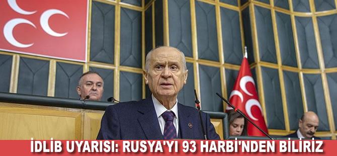 MHP lideri Bahçeli'den Rusya'ya İdlib tepkisi