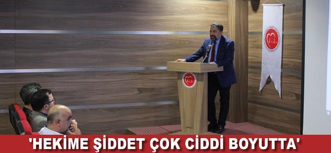 Hekim Hakları Derneği Başkanı Akçakaya: Hekime şiddet çok yüksek boyutta