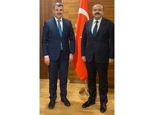 Başkan Altınsoy ilin talepleri için Ankara'da görüşmelerde bulundu