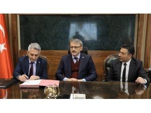 Bingöl'de  2 projenin sözleşmesi imzalandı