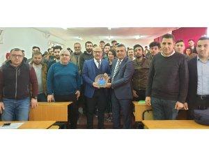 Prof. Dr. Burhanettin Hacıcaferoğlu Elmalı'da öğrencilerle buluştu