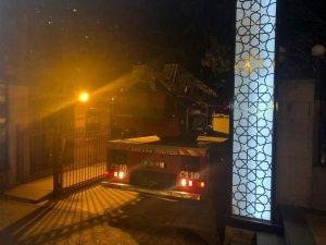 Ankara Üniversitesi İlahiyat Fakültesinde yangın