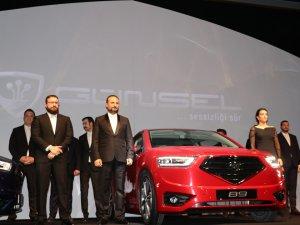 KKTC'nin yerli otomobili 'GÜNSEL'in tanıtımı yapıldı