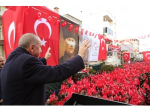 """Cumhurbaşkanı Erdoğan: """"Ne hizmet ediyorlar, ne de hizmet edilmesine müsaade ediyorlar"""""""