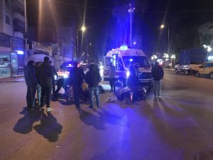 Trafik polisi ticari taksiyle kovalayıp yakaladı
