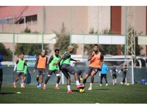 Alanyaspor, Beşiktaş maçı hazırlıklarını sürdürdü