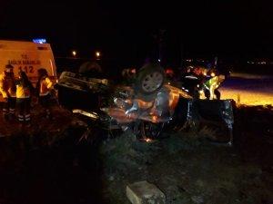Kazada ölen 3 aile üyesi toprağa verildi