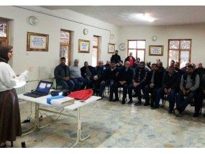 Ulaşım personeline iş sağlığı ve güvenliği eğitimi verildi