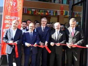 GAÜN'de coşkulu 'Uluslararası Kitap Kahve' açılışı