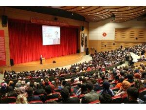 """Kamu Başdenetçisi Malkoç NEVÜ'de """"28 Şubat'tan 2023'e Türkiye""""yi anlattı"""