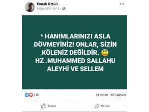 Nişanlısı tarafından öldürülen Emrah Öztürk'ün paylaşımı yürekleri dağladı