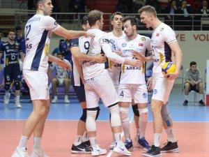 Avrupa Erkekler CEV Kupası: Galatasaray HDI Sigorta: 3 - Arkas: 1