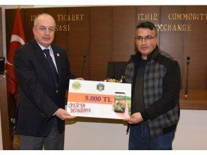 İHA Muhabiri Özkan Olcay, birincilik ödülünü aldı