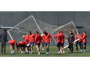Hekimoğlu Trabzon FK, Hacettepe maçı hazırlıklarını sürdürdü