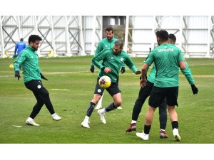 Konyaspor'da Kasımpaşa maçı hazırlıklarını sürdürüyor