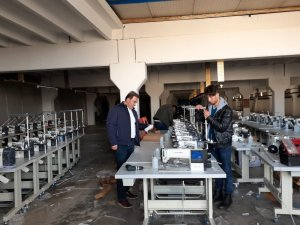 Samsat'ta tekstil fabrikası açılıyor