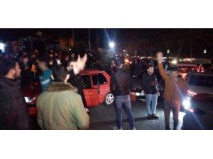 İstanbul'da şehitler için sürücüler konvoy oluşturdu